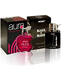 ARCHIES PERFUME COMBO SET -AURA & BLACK IS BLACK (PACK OF 2)