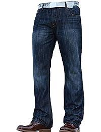 Neuf pour Hommes Smith and Jones Coupe Bottillon Large Bas Résistant Mode  de Marque Jeans Jean d348b6fbc816