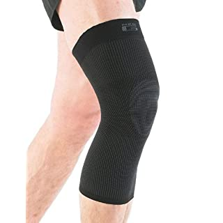 Neo G Knee Support - For Arthritis, Joint Pain, Sprains, Strains, Knee Injury, Recovery, Rehab, Sports, Running - Multi Zone Compression Sleeve - Airflow - Class 1 Medical Device - Medium - Black