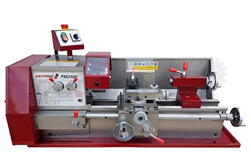 PAULIMOT Drehbank/Drehmaschine PM2500 mit 400 Volt Motor