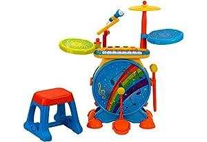 Globo Toys Globo-37333Factory Sonido Party Instrumento Musical Juguete con Tambor