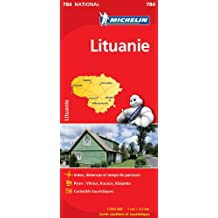 Carte NATIONAL Lituanie