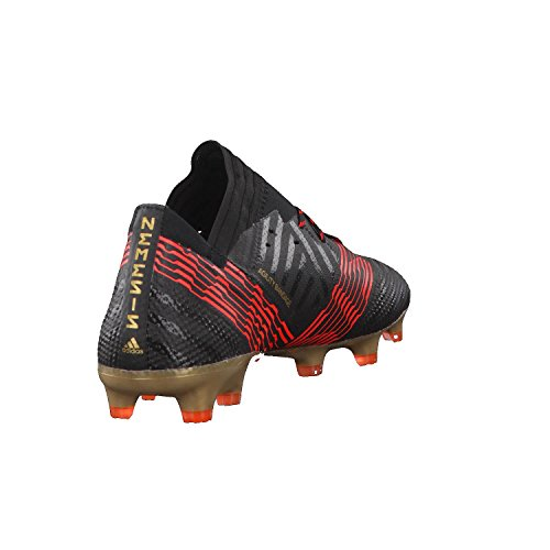 adidas Herren Nemeziz 17.1 FG Fitnessschuhe Mehrfarbig (C Black C Black S O L Re D)