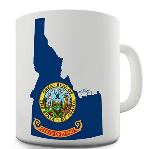 Lustige Kaffee Tasse Becher State Of Idaho Great Seal 50 States US Symbol Mug - Idaho State Seal