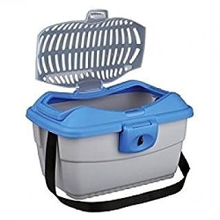 Trixie Mini-Capri Transportation Box for Rodents 40× 22× 30cm Light Grey/Blue