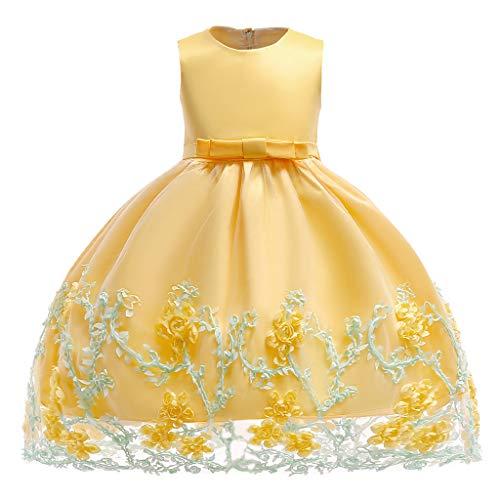Mädchen Kleid Baby Ärmellos Prinzessinen Kleider Säugling Partykleidung Kinder Formal Kostüm 18-24 Monate (Prinzessin Kostüm 18 24 Monate)
