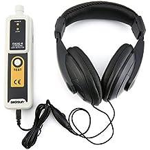 Detector ultrasónico de fugas Allsun EM282 Transmisor 40KHz Detector confiable Indicador LED de fugas de líquidos