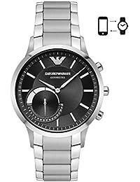 Emporio Armani Men's ART3000 Silver Connected Hybrid Smartwatch