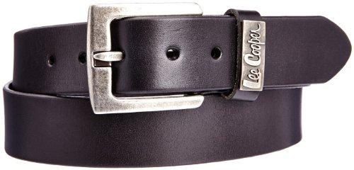 Lee Cooper - Grinka 9550, Cintura da uomo, nero(schwarz - noir (black)), taglia produttore: 105 (regolabile fino a 120 cm)