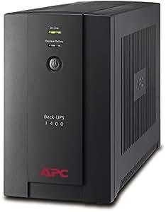 APC Back-UPS BX - Gruppo di continuità (UPS) Potenza 1400VA, - BX1400U-GR - AVR, 4 Uscite Schuko, USB, Shutdown Software