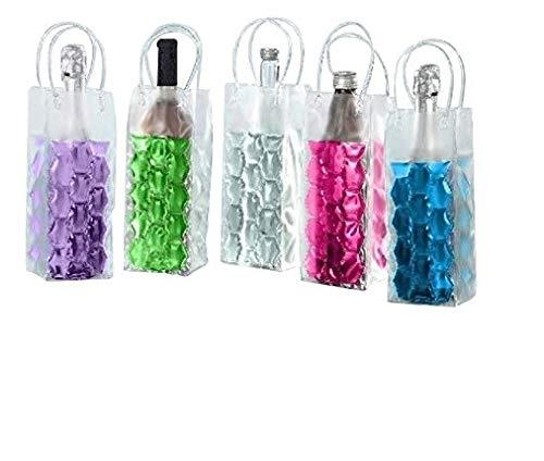 2x Flaschenkühler Kühlmanschette Kühlakku Flaschenwärmer mit Klettverschluss