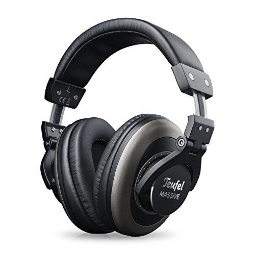 Teufel Massive - Ohrumschließender, Geschlossener HiFi-Kopfhörer für Bassliebhaber, Djs & Musiker