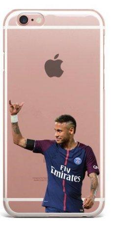 Schutzhülle iPhone 6/6S Neymar Jr PSG 10Fußball Zeichen der Hand Fußball-zeichen
