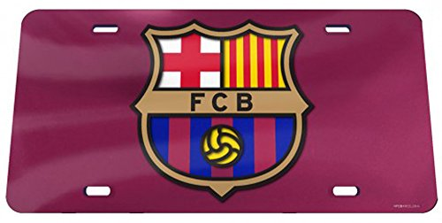 FC Barcelona offizielle Soc Nummernschild Spiegel von 'WinCraft Snack-Schale 944351