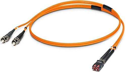 PHOENIX 2901821 - CABLE FIBRA OPTICA/O FLUORESCENTE MM PATCH 2 ST-SCRJ