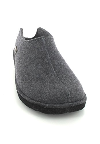 Haflinger Smily, Chaussons Mules Mixte Adulte Anthracite