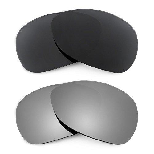 Revant Ersatzlinsen für Oakley Crosshair (2012) Polarisiert 2 Paar Kombipack K001