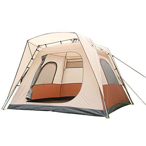 Freie Build '1 Sekunde schnell öffnen Sie das' automatische Zelt, 5-8 Personen Atmungsaktives Schiebedach-Zelt, Atmungsaktive wasserdichtes Zelt