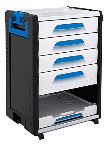 Sortimo WorkMo 24-750 inklusive 4 Schubladen, 1 MultiSlide, 1000004445