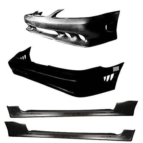 Vicrez Ford Mustang 1994-1998 Sallen Style 4 Piece Polyurethane Full Body Kit