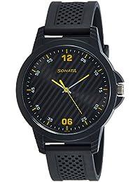 Sonata Analog Black Dial Boys Watch-7119PP04