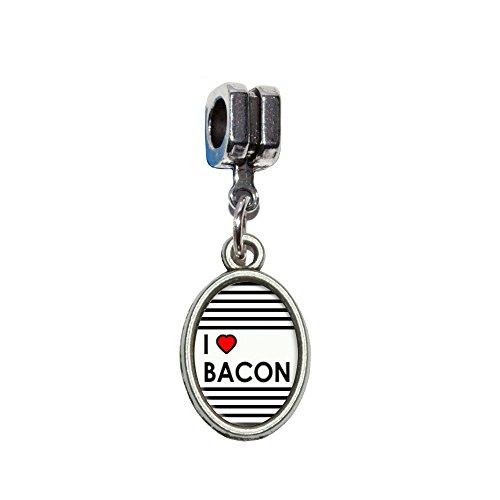 (I love Herz Speck Italienisches europäischen Euro-Stil Armband Charm Bead–für Pandora, Biagi, Troll,, Chamilla,, andere)