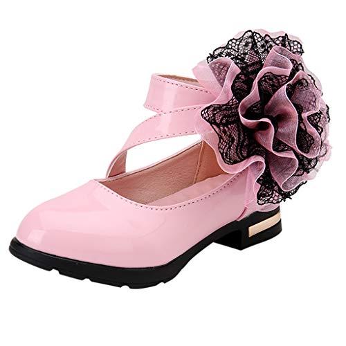 ZARLLE Zapatos niñas Princesa Zapatos pequeños Zapatos