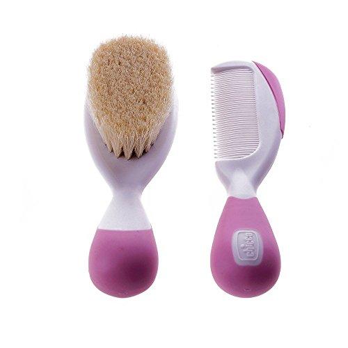 chicco-set-cepillo-y-peine-de-pelo-natural-color-rosa