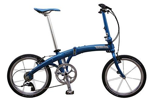 Dahon Mu Ex Vélo pliable Bleu 10 V