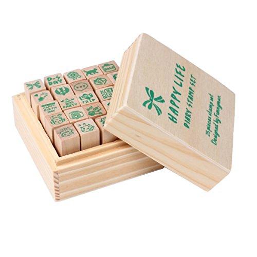 tampon-de-journal-toogoortampon-de-journal-vie-heureuse-25pcs-mis-en-caoutchouc-bricolage-timbres-en