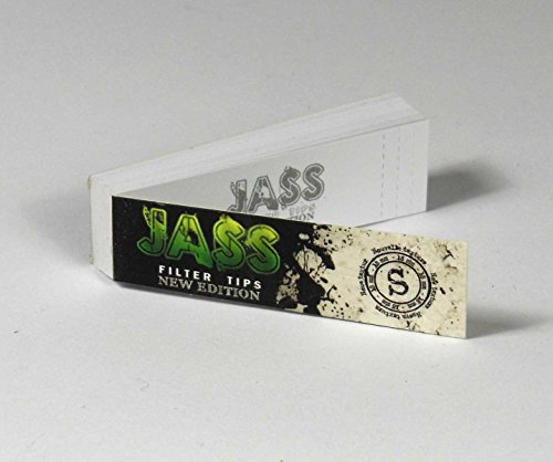 Jass Filter Tips Classic Edition 25 CARNET de 50 Filtre - TAILLE S - 023