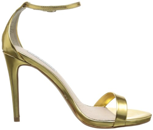 Steve Madden Stecy Damen Sandale Gold Foil