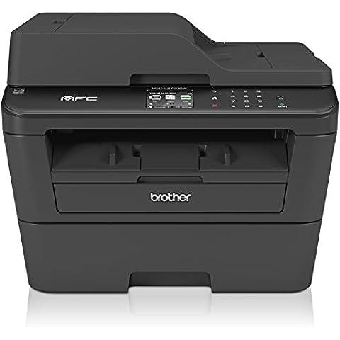 Brother MFC-L2720DW Stampante Multifunzione Laser, Monocromatica, Compatta, Touchscreen da 6.8