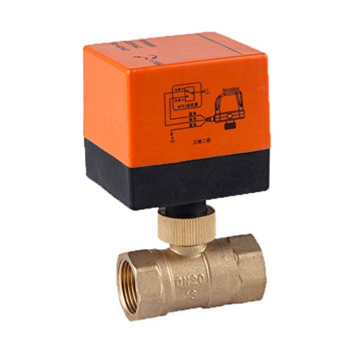 Fan-coil Unit (LYY DN15/20/25/32/40/50/50 Brass Electric Ball Valve for Fan Coil Unit of Central Air Conditioning, Two-Way (Three Wires Two Controls, 220V),DN50)