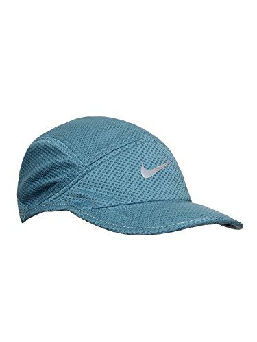 Nike Mesh Day Break Adj Cap, Men's (Blue/Black/Reflective Silver)