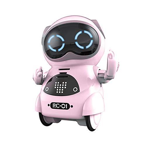 RC TECNIC Mini Robot Interactivo para Niños Reconoce Tu Voz Responde Español...