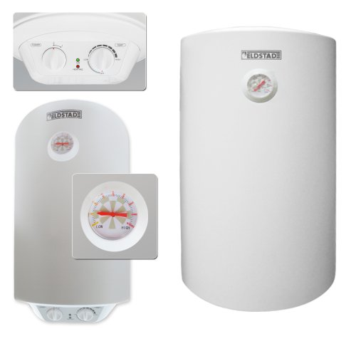ELDSTAD Warmwasserspeicher Boiler Elektro Speicher Heizung 1,5 kW 50 L Liter