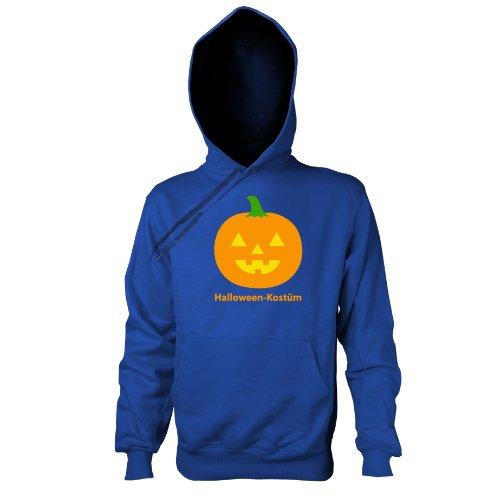 TEXLAB - Halloween Kostüm - Kapuzenpullover, Herren, Größe L, marine