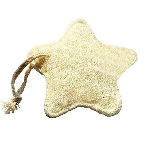 Hiikk Baño Estrella Forma Esponja Natural Almohadilla