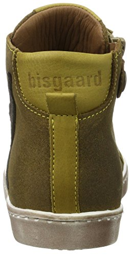 Bisgaard - Schnürschuhe, Pantofole a Stivaletto Unisex – Bambini Marrone (Khaki)
