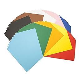 Bringmann – Risma di 100 fogli, formato A4, colori assortiti