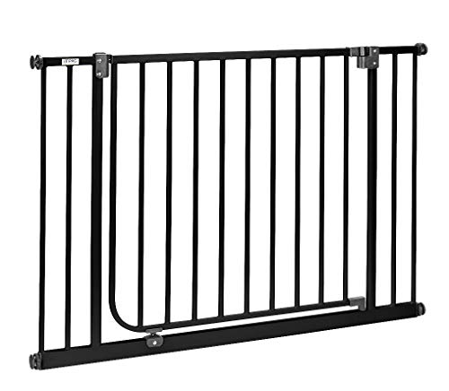 e Verbreiterungen mehr | 75cm extrabreiter Durchgang | Längen 83 - 243cm | ohne Bohren | Automatik-Tür | 90° Feststellfunktion | Türschutzgitter > SW-L ()