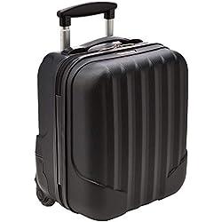 WITTCHEN Bagage à main, chariot, valise, petite | Coleur: Noir | Dimension: 32 x 25 x 42 cm | Capacité: 25 L | ABS - V25-10-232-10
