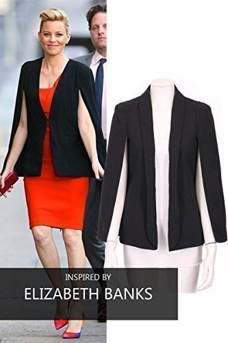 Cape-Blazer-With-Collar-Open-Front-And-Long-Sleeves
