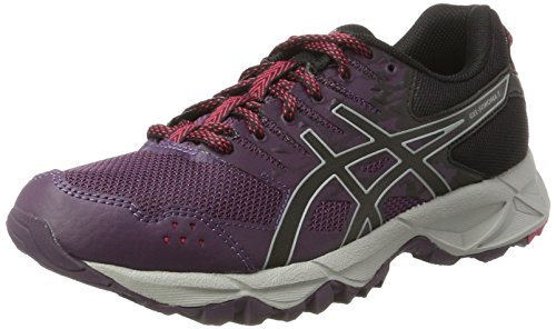 Asics Damen Gel-Sonoma 3 Traillaufschuhe, Grau (Winter Bloom/Black/Mid Grey), 39.5 EU