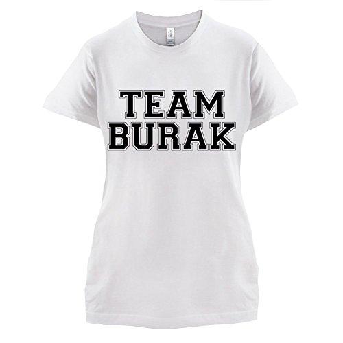 Team Burak - Damen T-Shirt - 14 Farben Weiß