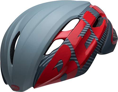BELL Unisex- Erwachsene Z20 AERO MIPS Fahrradhelm, Velocity mt/gl Grey/Crimson, S