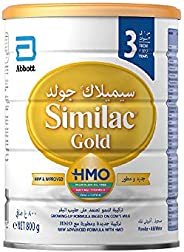 Similac Gold 3 HMO Growing-Up Formula Milk For 1-3 Years Old, 800g