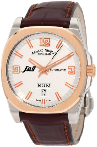Armand Nicolet 8650A-AS-P965MR2 - Reloj de Pulsera Hombre, Color Marrón