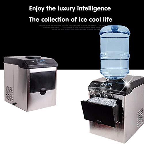 Eismaschine elektrische gewerbliche oder Heimarbeitsplatte Automatische Kugel Eismaschine, Eiswürfelmaschine, 220V HZB-25 / BF